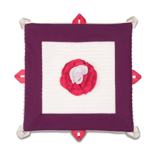 y Lovie Baby Blanket, Grape Jelly, 13