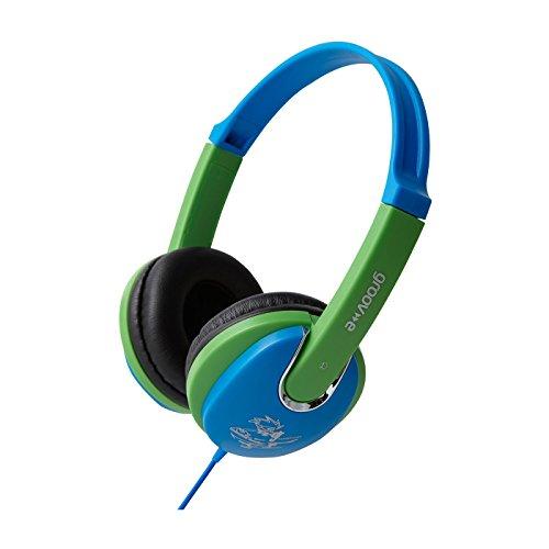 Groov-E Kiddiez, Kinderhoofdtelefoon Met Volumeregeling – Blauw/Groen