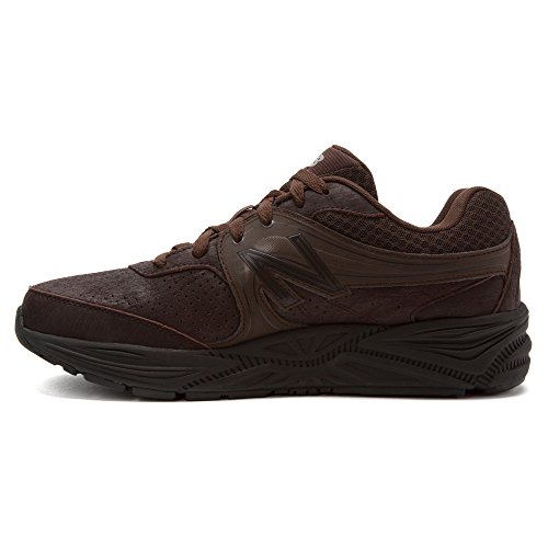888098092783 - New Balance Men's MW840 Walking Shoe,Brown,9 2E US carousel main 2