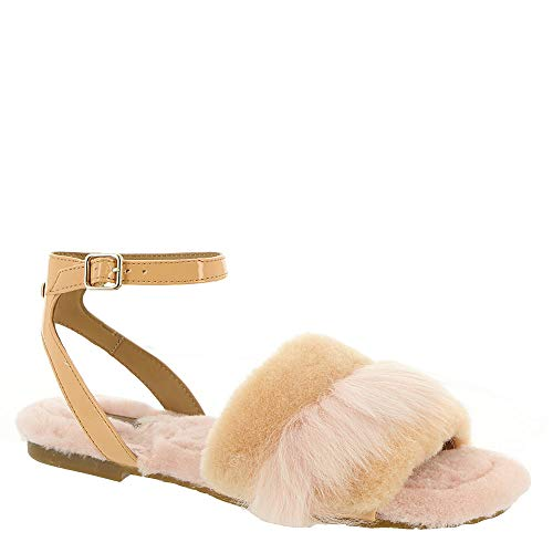 UGG Women's Fluff Fest Sunkissed 7 B US (Uggs Patent Leather)