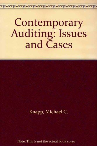 Contemporary Auditing: Issues and Cases