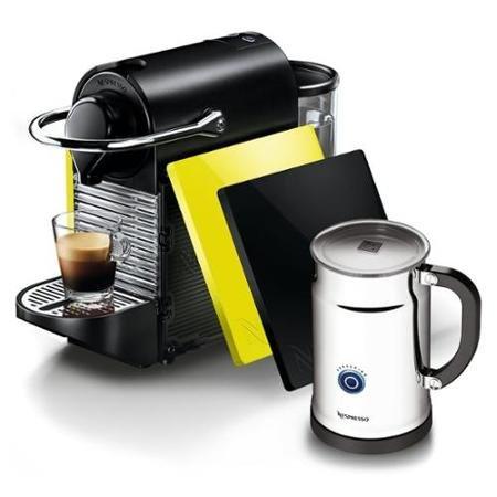 Nespresso Pixie Espresso Machine Bundle