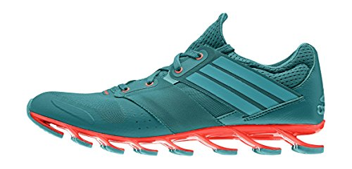 adidas Springblade Solyce, Sneaker Uomo Verde (Eqt Green/Shock Green/Solar Red)