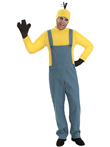 Princess Paradise Men's Minions Deluxe Kevin Costume Jumpsuit, As As Shown Small/Medium ()