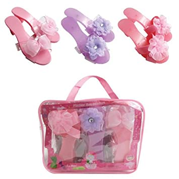 Amazon.com: My Princess Academy Fancy Flower and Ribbon Shoe ...