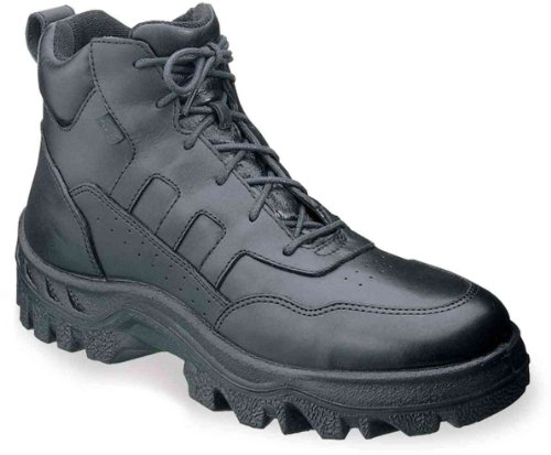 TMC Athletic Rocky Black Men's inch Leather 6 Postal Work 6xqxwREO