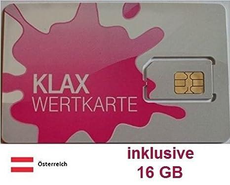 Prepaid datos tarjeta SIM (Internet móvil) para Austria con ...