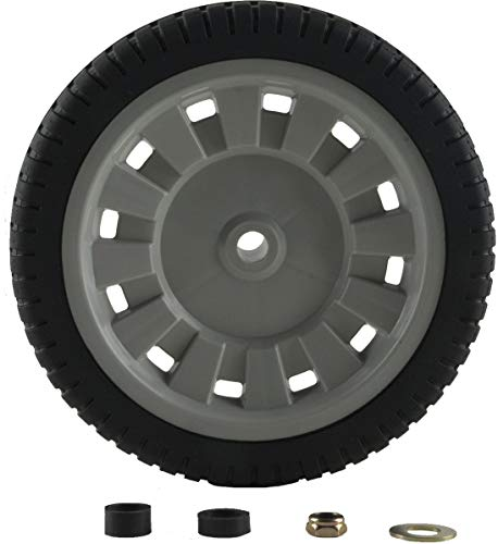 - Arnold Universal 8-Inch Lawn Mower Wheel with Adapters (Renewed)