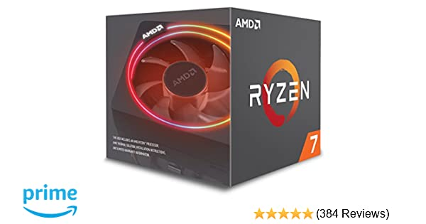 Amazon Com Amd Ryzen 7 2700x Processor With Wraith Prism Led Cooler