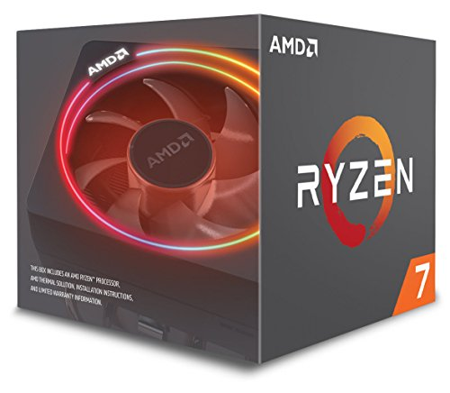 (AMD Ryzen 7 2700X Processor with Wraith Prism LED Cooler - YD270XBGAFBOX)