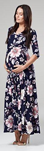 Happy Mama Maxi Vestito Donna Pr rzrw4