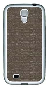 Case for Samsung Galaxy S4-Stick Figure TPU Hard Plastic Case for Samsung Galaxy S4 / SIV/ I9500 - White