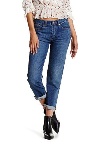Marc by Marc Jacobs Women's Slim Boyfriend Cropped Jeans, Vintage Blue, (Marc Jacobs Cropped)