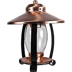 AUDUBON/WOODLINK Lantern Bird Feeder Copper&Black 4 LB Cap