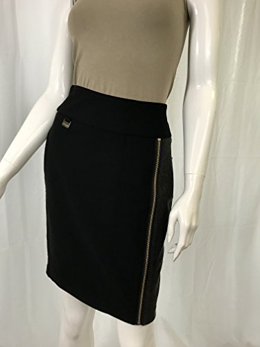 Lisette Zip Accent Skirt 8 -