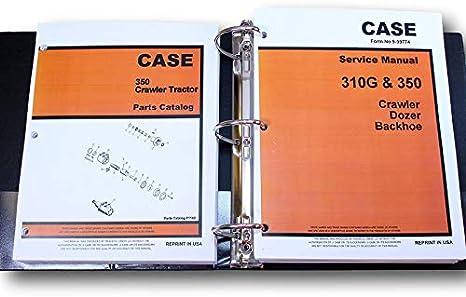 CASE 1450 CRAWLER LOADER DOZER SERVICE MANUAL PARTS CATALOG SHOP BOOK REPAIR