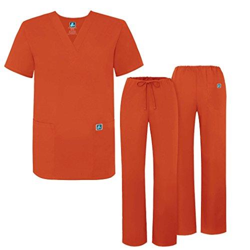 (Adar Universal Medical Scrubs Set Medical Uniforms - Unisex Fit - 701 - MND -M)
