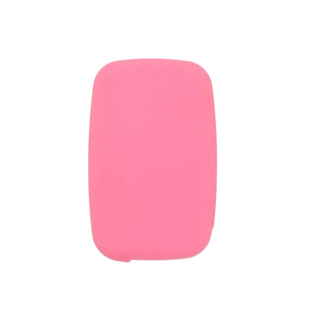 BROVACS Silicone Cover Protector Case Skin Jacket fit for LAND ROVER LR4 Range Rover 5 Button Smart Remote Key Fob CV4982 Black