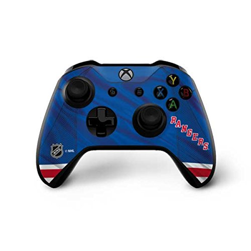 Skinit New York Rangers Home Jersey Xbox One X Controller Skin - Officially Licensed NHL Gaming Decal - Ultra Thin, Lightweight Vinyl Decal Protection