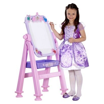 Disney Sofia the First Deluxe 2 in 1 Royal Easel and Vanity (Disneys Magical Mirror)