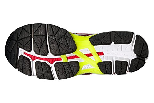 ASICS GEL GT 3000 4 ROUGE ET JAUNE Chaussures de running