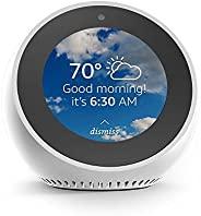 Echo Spot - Smart Alarm Clock with Alexa - White