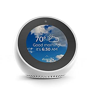 Echo Spot - Smart Alarm Clock with Alexa - White (B073SRJD46) | Amazon Products