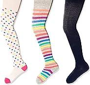 Amazon Brand - Spotted Zebra Girls' 3-Pack Cotton Ti