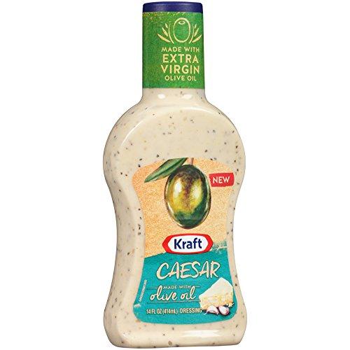 Kraft Caesar Olive Oil Dressing, 14 Ounce