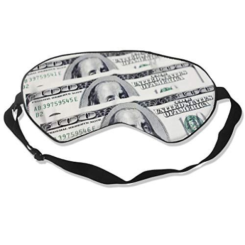 Amazon.com : Sleep Mask My Favorite Money Eye Mask Cover With Adjustable Strap Eyepatch For Travel, Nap, Meditation, Blindfold : Beauty