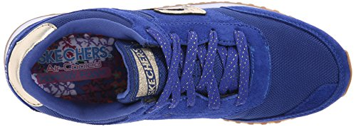 Fever Skechers OG Fashion Navy Originals Gold 78 Women's Retros Gold Sneaker qxrqwtYS