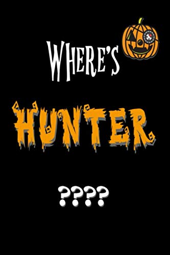 Hunter College Halloween Party (Where's Hunter?: Halloween Gifts : Funny Blank Lined Journal Notebook for Writing and taking Notes at Political)