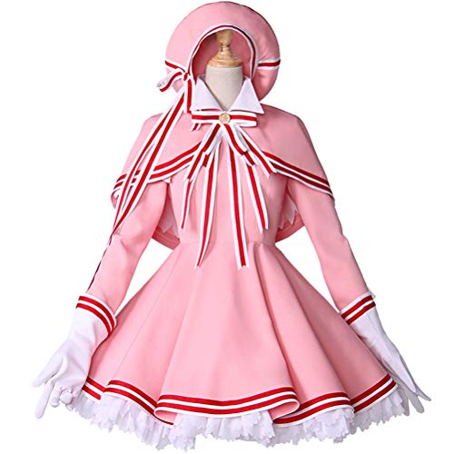 Anime Card Captor Sakura Cosplay Halloween Party
