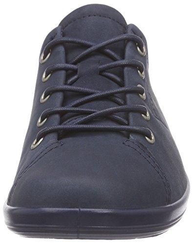 Bleu marine02038 0 Femme 2 Sneakers Ecco Soft Basses 04YqS8w