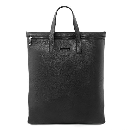 Vertical Leather Tl Bag Sac SoupleTl141680noirNoir Bandoulière Cuir Tuscany En qSMLGjUzVp