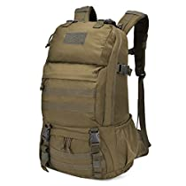 Mardingtop 40L / 60L Adult Tactical Trekking Backpacks Backpack Outdoor Hiking Backpacks for Camping Hiking Traveling