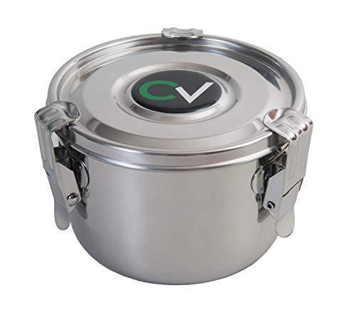 Cvault Hyrdofarm Large Steel Humidity Curing Humidor Storage Container | Cv00040
