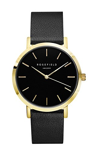 "Rose field reloj colour negro ""the Gramercy"""