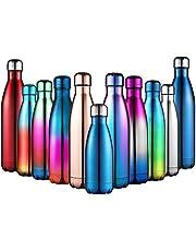 Anjoo Bottiglia Termica in Acciaio Inossidabile, Leggero e Compatto in Bottiglia Termica per All'aperto, Cucina, Campeggio o Sport - 350ml/500ml/750ml - Regali di Grande Scelta per Natale e Capodanno