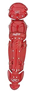 Rawlings Leg Guards (Scarlet, 18.5-Inch)