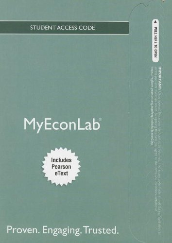 NEW MyLab Economics with Pearson eText -- Access Card -- for Economics Today (MyEconLab (Access Codes))