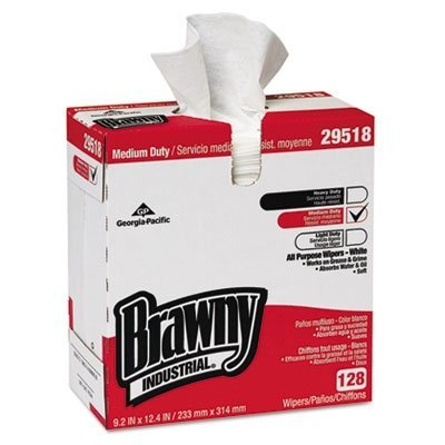 Brawny Industrial GPC29518CT Airlaid Med-Duty Wipers, Cloth, 9-1/5