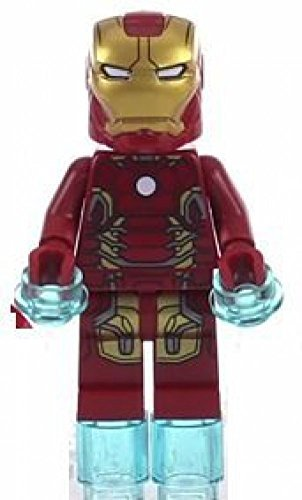Lego Marvel Super Heroes Iron Man Mark 43 Minifigure 2015 ()