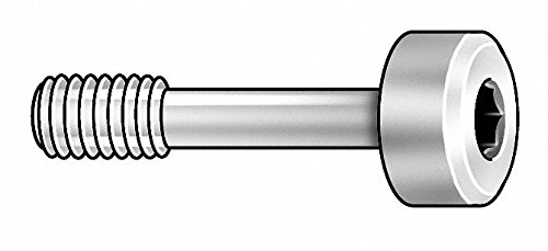 3/4' 18-8 Stainless Steel Captive Panel Screw with 10-32 Thread Size and Knurled Head Type by GRAINGER APPROVED (Image #1)