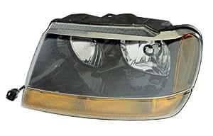1999-2004 Jeep Grand Cherokee Laredo Headlights Headlamps Head Lights Lamps Pair Set (1999 99 2000 00 2001 01 2002 02 2003 03 2004 04)