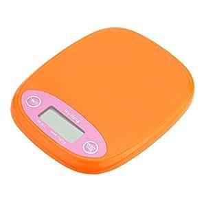 Andoer Mini Electronic Balance Professional Digital Pocket Scale Kitchen Scale Food Weighing Tool Orange/White