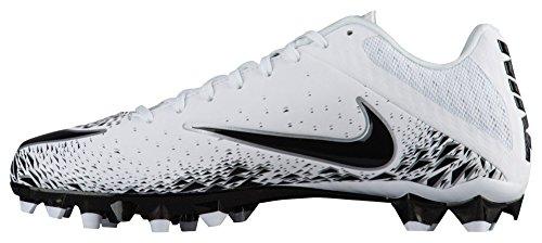 Image of NIKE Mens Vapor Speed 2 TD Football Cleats (10, White/Black)