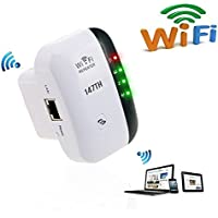 147th Wifi Range Extender- Wireless-N Point Amplifier Network Repeater 2.4G Lan AP High Speed Signal Booster Apter WLAN Router