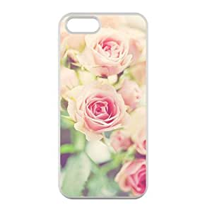 Welcome!Iphone 5/5S Cases-Brand New Design Flower Rose Printed High Quality TPU For Iphone 5/5S 4 Inch -04 WANGJING JINDA