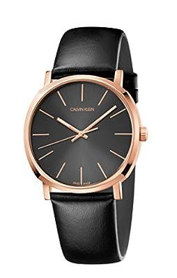 Calvin Klein Posh Rose Gold Black Swiss Men's Watch
